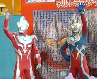 関西でのウルトラヒーローショーにウルトラマンギンガが初めてメインで登場♪